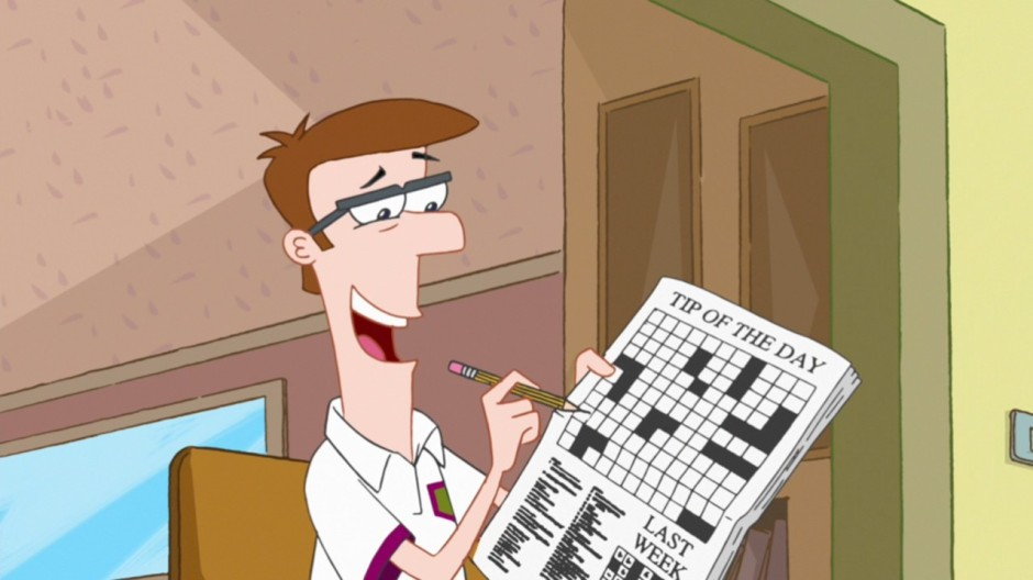 Doing_the_Tip_of_the_Day_crossword_puzzle