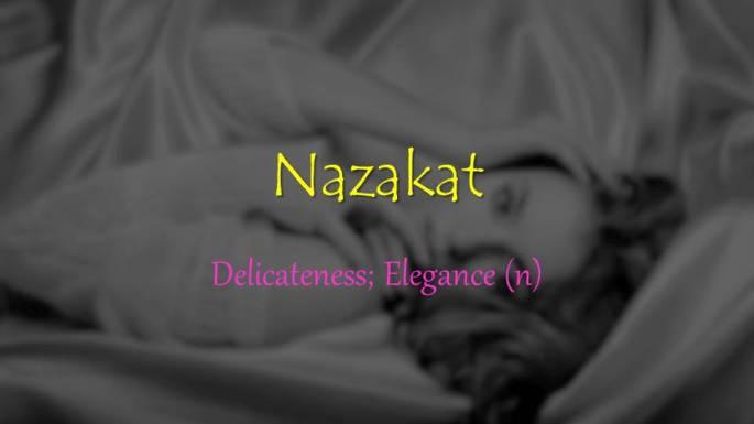 Nazakat