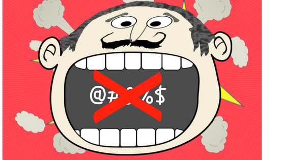 Ban on cuss words